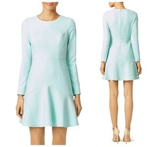 SHOSHANNA Eden Blue Crepe Dress Size 8